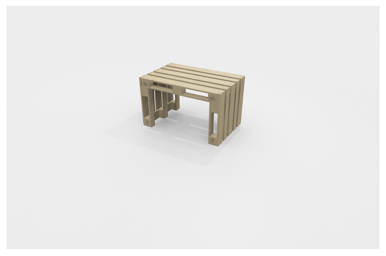 Tisch Aus Paletten Gunstig Kaufen Optional Mit Tischplatte